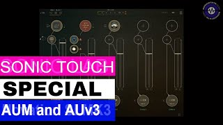 Sonic Touch - AUM Audio Mixer and AUv3