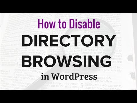 How to Disable Directory Browsing in WordPress