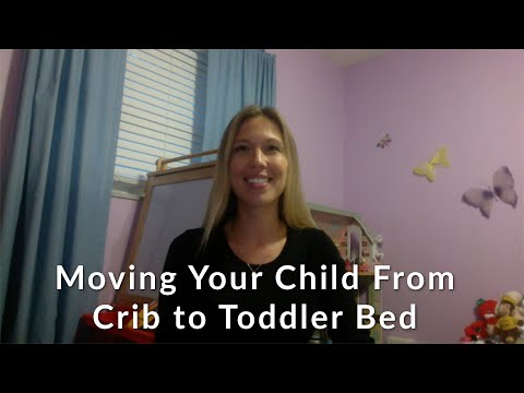 Moving Your Child From Crib to Toddler Bed