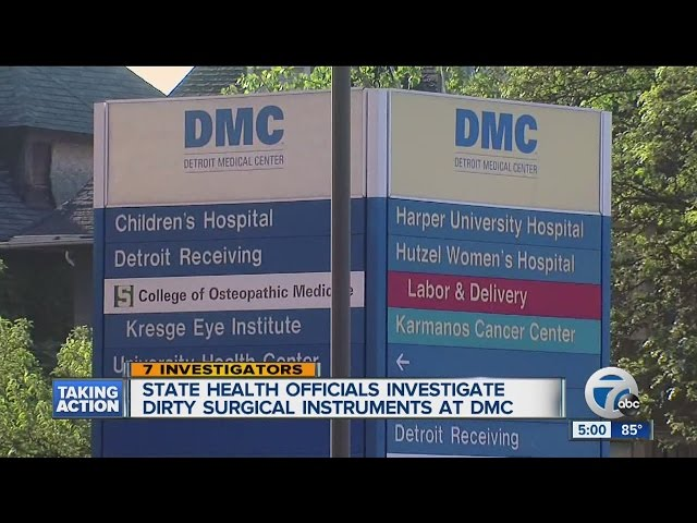 Detroit Medical Center In Hot Water Again For Dirty