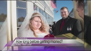 How long should a couple wait to get married?