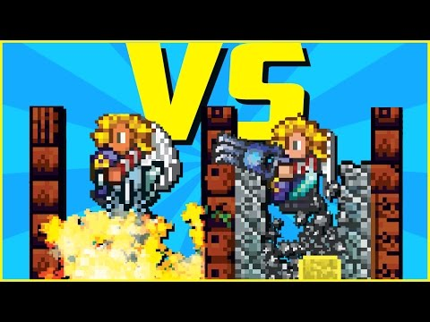 FASTEST TERRARIA PICKAXE VS ROCKETS!