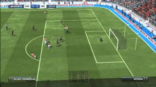 Fifa 13 - Gameplay match rapide