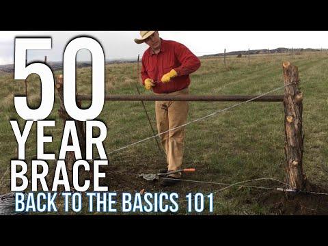 A Proper Barbwire H Brace - YouTube