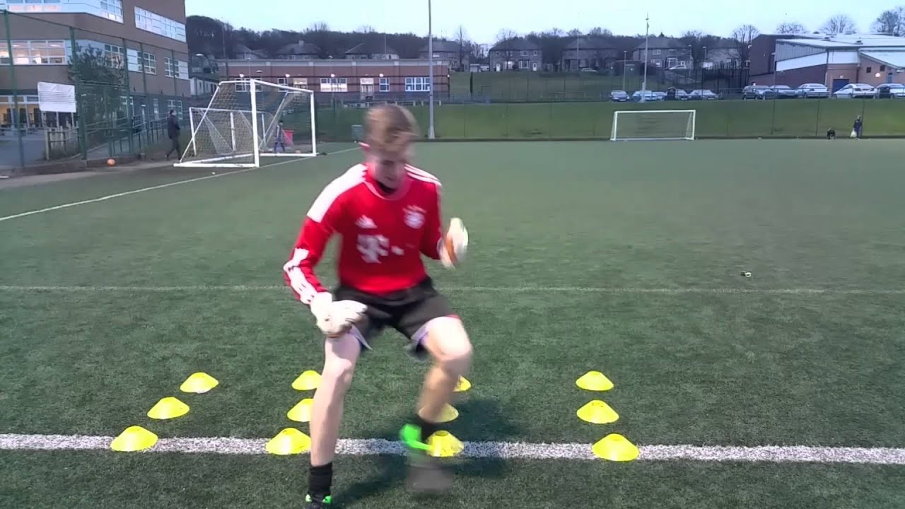 Footwork training drills for goalkeepers in Blackburn