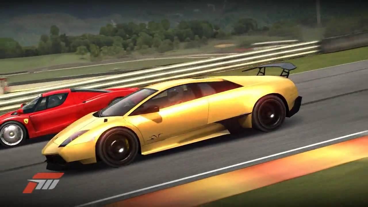Forza Motorsport 3: Lamborghini Murcielago LP670-4 vs. Ferrari Enzo