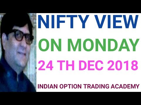 NIFTY VIEW ON MONDAY 24 TH DEC 2018