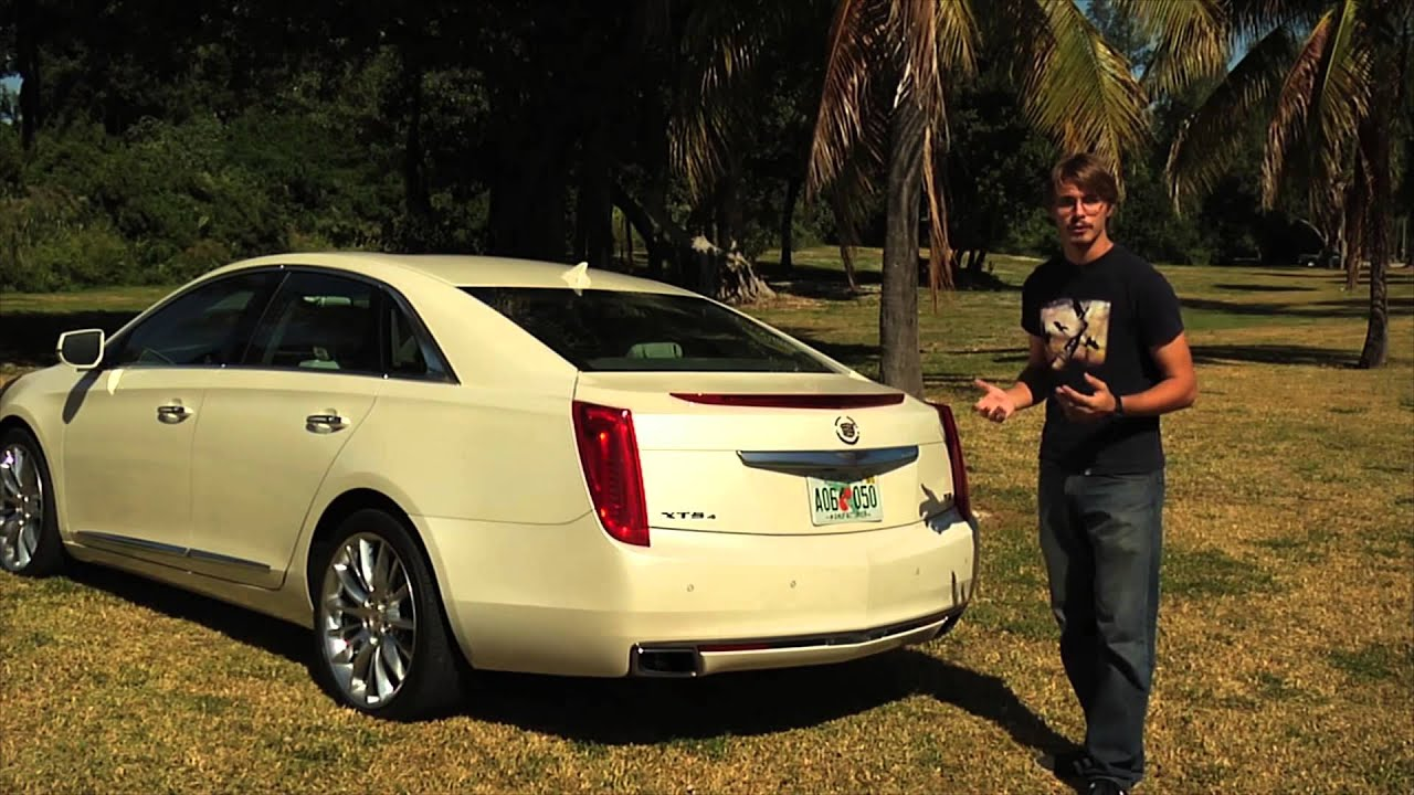 2013 Cadillac XTS 4 Platinum - Review by Voxel Group - Garage TV - YouTube