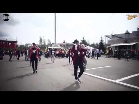 Видео: Самый крутой танцевальный Флешмоб в Коломне. 3 мая 2015 г. Wings for Life World Run