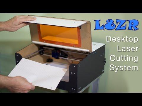 DIY Desktop Laser Cutter Teaser Video