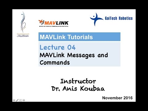 MAVLink] Mavlink Messages and Commands - YouTube