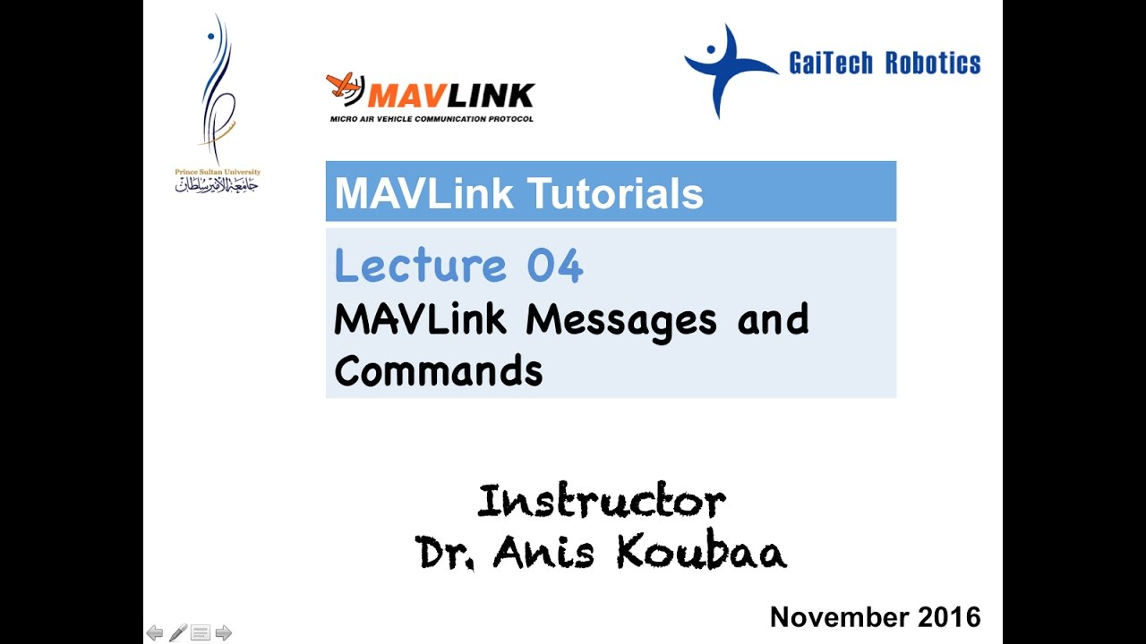 [MAVLink] Mavlink Messages and Commands