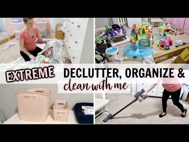 Major Organize Declutter Clean With Me 3 Days Of Cleaning Organizing Cleaning Motivation