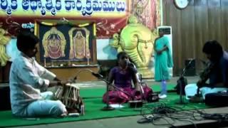 Annamayya Keerthanalu by Monisha Tirupati