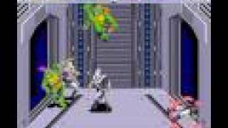 SNES Longplay [030] Teenage Mutant Ninja Turtles IV: Turtles in Time