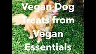 Vegan Dog Treats From Vegan Essentials Unboxing