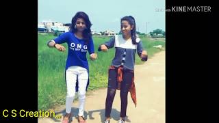 Funny village girl's dance what's up status only on C S Creation,,,