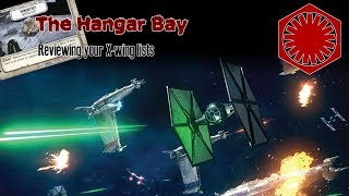 The Hangar Bay (The X-wing list review show) - Season 2 Episode 3 - TIE FOs