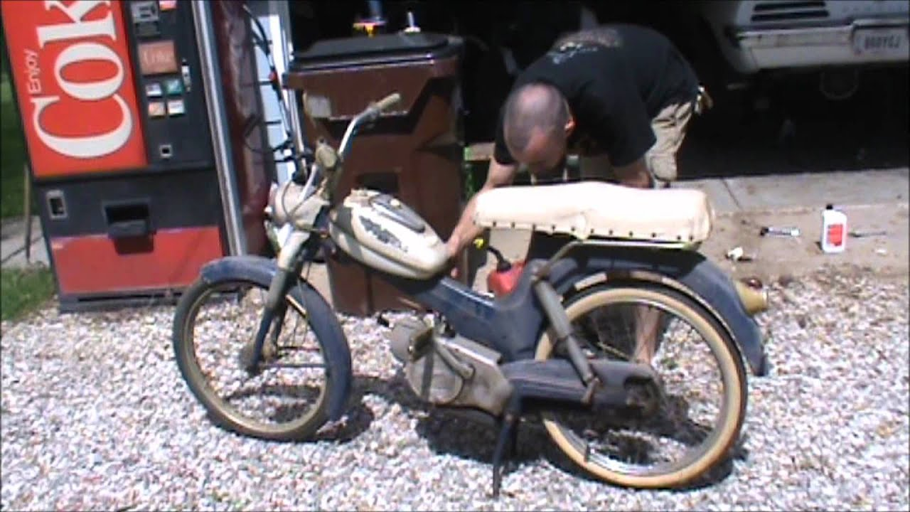 Allstate Sign In >> Steyr Daimler Puch , Allstate Moped - YouTube