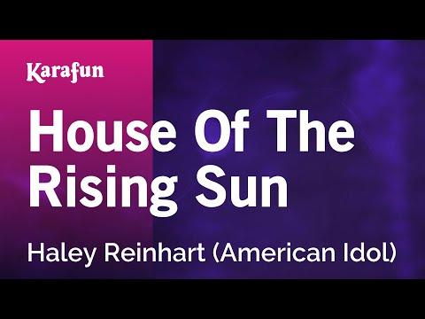 Karaoke House Of The Rising Sun - Haley Reinhart *
