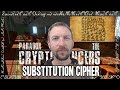 Substitution Cipher (Let's Play Walkthrough of Paradox of the Cryptomancers Lobby Puzzle)