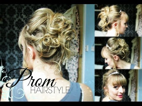 Prom Hairstyle! Taylor Swift Love Story Inspired Updo