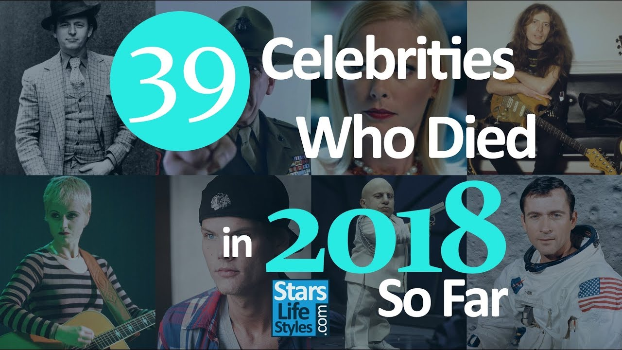 Celebrity Deaths in 2019 So Far | Stars We've Lost in ...