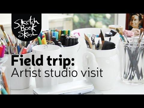Field Trip: a peek inside the artist&39;s studio