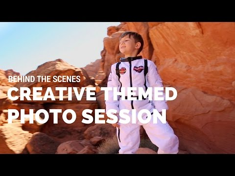 Valley of Fire spacesuit photoshoot Nevada Canon 5D Mark III behind the scenes