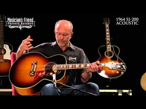 Gibson 1964 J-200 Acoustic Guitar, demo'd by Don Ruffatto