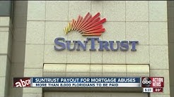 SunTrust payout for mortgage abuses