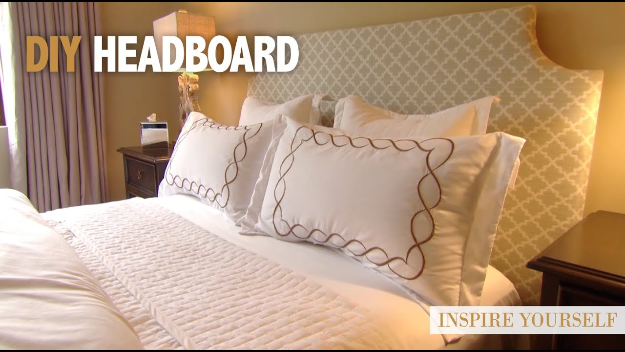 Diy create your own headboard youtube - Make your own headboard ...