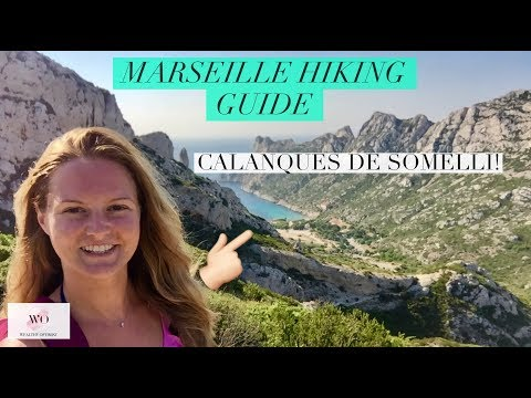 HOW TO GET TO THE CALANQUES MARSEILLE! France