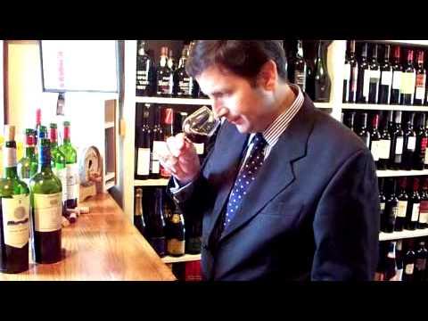 Eric Fourault of Baron Edmond De Rothschild at Station Plaza Wine