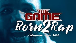 The Game - Born 2 Rap European Tour Prague 2020