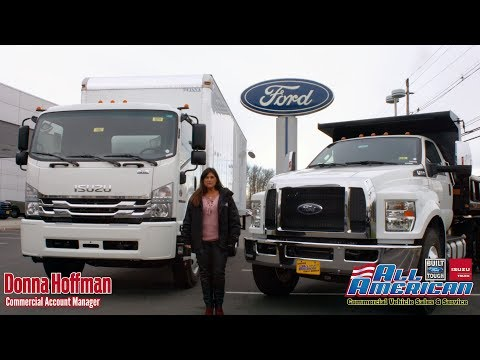 Introducing the 2018 Isuzu TVR & 2018 Ford F-750