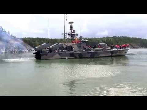 """En """"Burnoutstart"""" med Robotbåt R142 Ystad under EDIP 2015"""