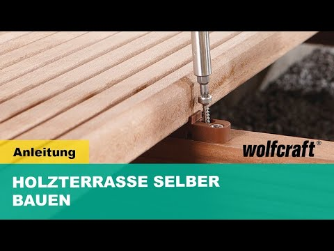 terrassenbau schritt f r schritt erkl rt mit wolfcraft youtube. Black Bedroom Furniture Sets. Home Design Ideas