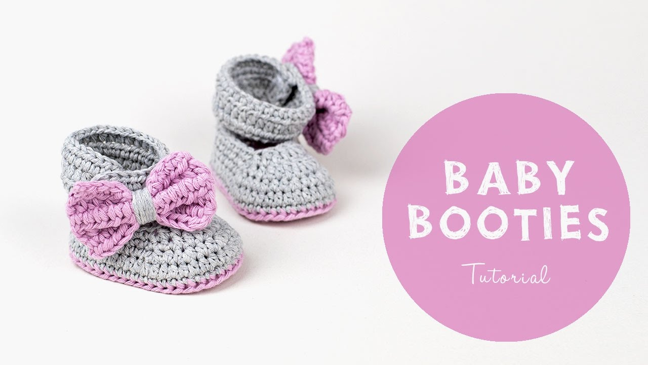 Easy Baby Booties   Croby Patterns