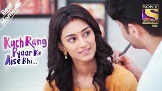 Kuch Rang Pyar Ke Aise Bhi   Dev Writes On Sonakshi's Back   Best Moments