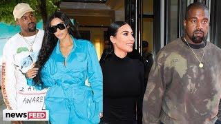 Kim & Kanye's Baby #4 Is Here!