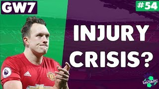 Injury crisis? | let's talk fantasy premier league 2017/18 | #54