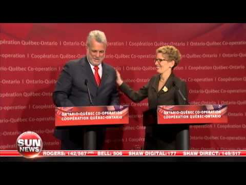 Ontario & Quebec Premiers Commit To Carbon Tax