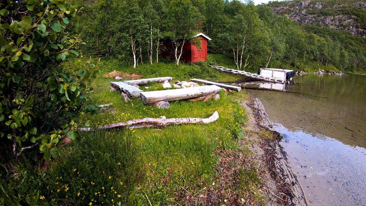 Skivikvatnet på Straumøya i Bodø