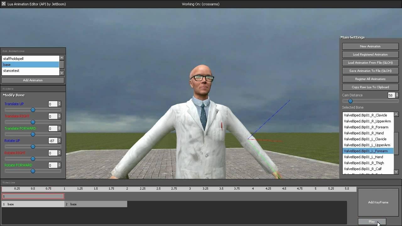 animation gmod