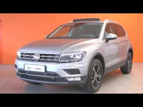 volkswagen nouveau tiguan occasion 2 0 tdi 150 bmt dsg7 4motion carat feuille d 39 argent youtube. Black Bedroom Furniture Sets. Home Design Ideas