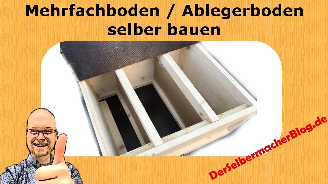 imkerei mehrfachboden 3er boden selber bauen youtube. Black Bedroom Furniture Sets. Home Design Ideas