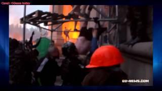 Как добивали беззащитных людей 2 мая у Дома профсоюзов