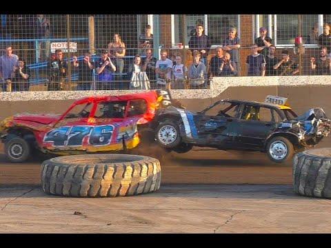 King's Lynn Destruction Derby Night Unlimited, 2 Litre, 1500cc & Micro Banger Racing 2019