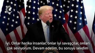 Donald Trump: Kürtler harika insanlar Video